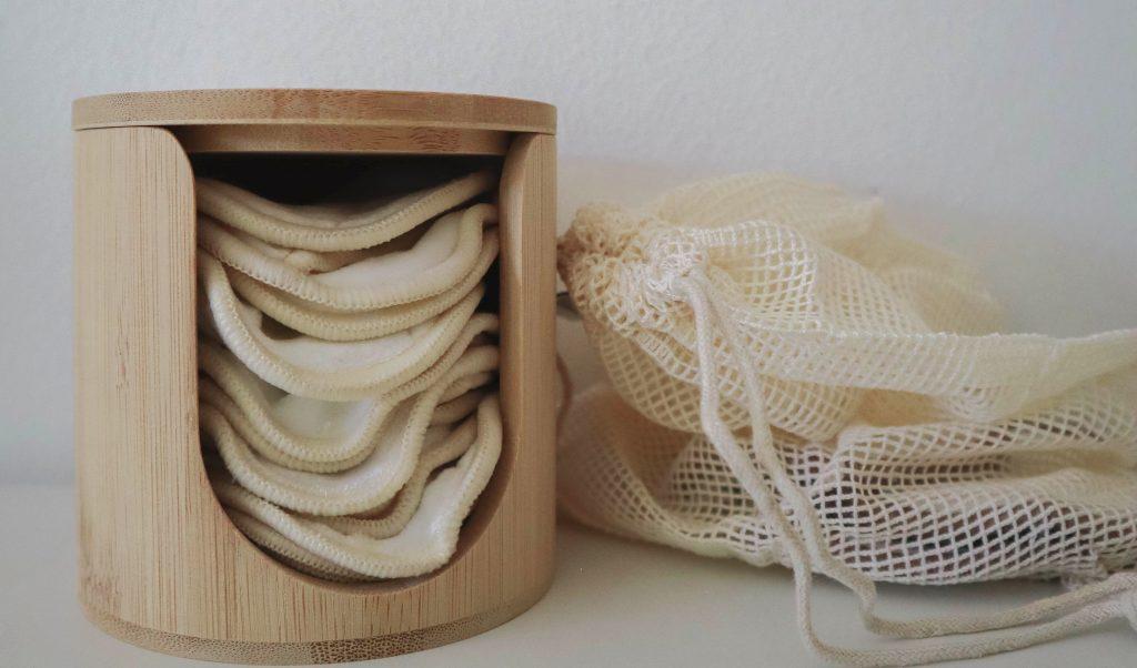 herbruikbare wattenschijfjes van bamboozy
